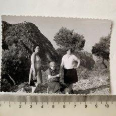 Fotografía antigua: FOTO. EXCURSIÓN AL GARBI. CALDERONA. ESTIVELLA. FOTÓGRAFO?.. Lote 269450023