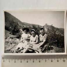 Fotografía antigua: FOTO. VISTA PANORÁMICA DEL CASTILLO DE BESELGA. ESTIVELLA. CASTELLÓN. FOTÓGRAFO?.FECHA, 28 AGOSTO 60. Lote 269451263