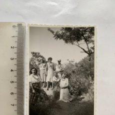 Fotografía antigua: FOTO. EXCURSIÓN LA BARRACA. CARCAGENTE. VALENCIA. FOTÓGRAFO?. FECHA, 29 JUNIO 1956.. Lote 269460293
