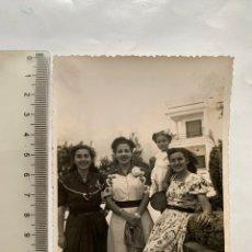 Fotografía antigua: FOTO. UNA TARDE EN CAMPO OLIVAR. VALENCIA. FOTÓGRAFO?. FECHA, 10 AGOSTO 1947.. Lote 269471703