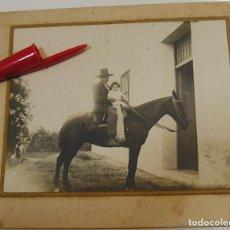 Fotografía antigua: ANTIGUA FOTO FOTOGRAFIA NIÑOS RETRATO DE LA ESPAÑA RURAL AÑOS 20 (21-6). Lote 269759173