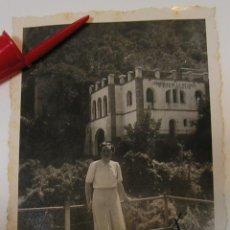 Fotografía antigua: ANTIGUA FOTO FOTOGRAFIA MONTSERRAT TELEFERICO MONASTERIO CUMBRES AÑOS 40 (21-7). Lote 274440103