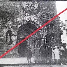Fotografia antica: ANTIGUO NEGATIVO O CLICHÉ DE FOTOGRAFÍA. BETANZOS. LA CORUÑA. AÑOS 40/50.. Lote 275761903