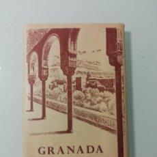 Fotografía antigua: ALBUM DE 14 FOTOGRAFIAS ARTISTICAS DE MONUMENTOS GRANADA EN ACORDEON-CAMPAÑA,PUIG FERRAN -1959. Lote 276201453