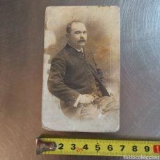 Fotografía antigua: FOTOGRAFÍA DE SEÑOR 1880S 1900S. PARECE QUE PONE GENERAL GUAL. O ALGO SIMILAR. Lote 277102723
