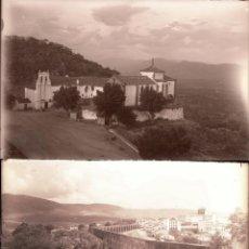 Fotografia antica: PLASENCIA.CACERES.EXTREMADURA.18 NEGATIVOS FOTOGRAFICOS CRISTAL.9,5X14CM. AÑOS 60. Lote 277118168