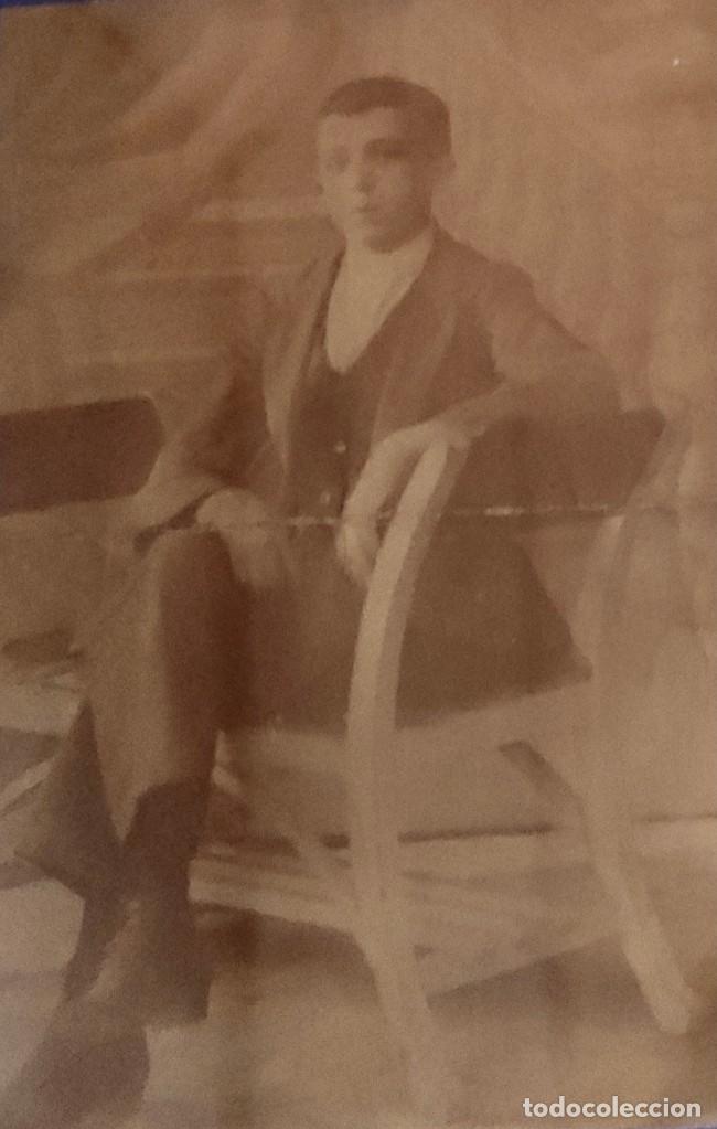 Fotografía antigua: Fotografía en blanco y negro, del siglo XIX. - Foto 2 - 277460883