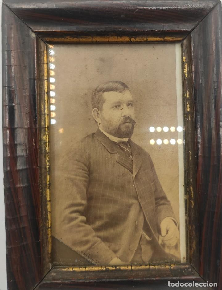 Fotografía antigua: Fotografía en blanco y negro, del siglo XIX. - Foto 2 - 277461633