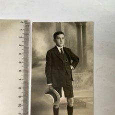 Fotografía antigua: FOTO. EL JOVEN Y PRESUMIDO CABALLERETE. GERMÁN COLON, FOTÓGRAFO. CASTELLÓN.. Lote 277519403