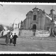 Fotografía antigua: 1229 - ARGENTINA CORDOBA IGLESIA JESUITA DE ALTA GRACIA Y MUJERES - FOTO 14X9CM 1940'. Lote 277642438