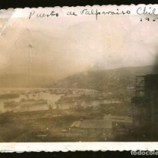 Fotografía antigua: 1238 - CHILE VALPARAISO / VISTA PANORÁMICA - FOTO 8X6CM 1950'. Lote 277644468