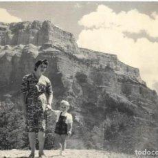 Photographie ancienne: *** HH591 - FOTOGRAFIA - SEÑORA CON SU NIÑO - ORDESA 1958. Lote 278323218