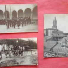 Fotografía antigua: LOS SALESIANOS.-LEONAR.-PASO DEL RIO OÑAR.-SARRIA DE TER.-AÑO 1920.-BAÑOS ARABES.-SANT FELIU.-GERONA. Lote 278971633
