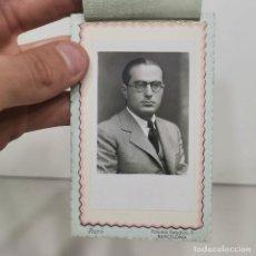 Fotografía antigua: FOTOGRAFIA - HOMBRE. CABALLERO - FOTO DE ESTUDIO - BARÓ. BARCELONA - AÑOS 50 - 11 X 7 CM / 55. Lote 279402308