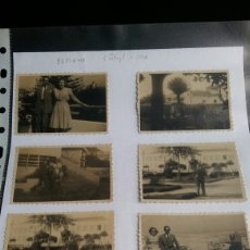 Fotografía antigua: ESPINHO 1946 - 7 FOTOGRAFIAS - PORTUGAL. Lote 283185558