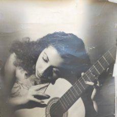 Fotografia antiga: FOTOGRAFIA DE GRAN FORMATO DE IBAÑEZ, LUISA ORTEGA, PRIMERA MITAD SIGLO XX. 55X49 CM.. Lote 284670898