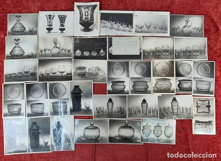 Fotografía antigua: ARCHIVO DE 221 FOTOGRAFIAS. CATALOGO DE LA CASA CRISTALARS DE BARCELONA. AÑOS 30-50 - Foto 2 - 286806158