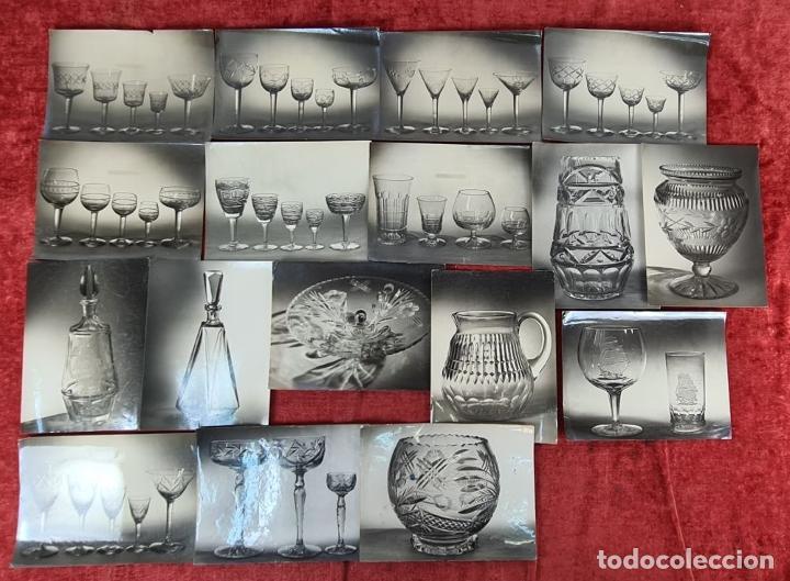 Fotografía antigua: ARCHIVO DE 221 FOTOGRAFIAS. CATALOGO DE LA CASA CRISTALARS DE BARCELONA. AÑOS 30-50 - Foto 10 - 286806158