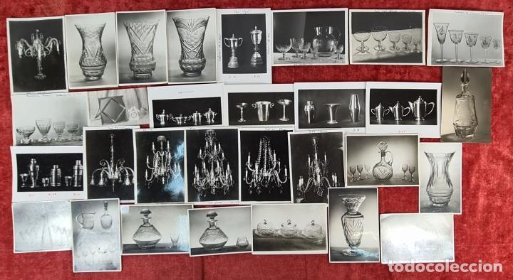 Fotografía antigua: ARCHIVO DE 221 FOTOGRAFIAS. CATALOGO DE LA CASA CRISTALARS DE BARCELONA. AÑOS 30-50 - Foto 11 - 286806158