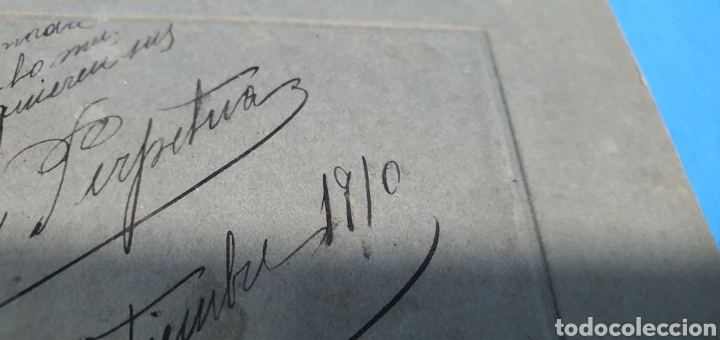 Fotografía antigua: ANTIGUA FOTOGRAFÍA PAREJA DE EPOCA POSANDO , FOTOGRAFOS E. VERA SUCESORES DE NAPOLEON , MADRID 1910 - Foto 6 - 286853528