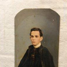 Fotografía antigua: LOTE DE 2 FOTOGRAFÍAS ANTIGUAS PINTADAS A MANO ÉPOCA. HABANA, 1876 Y 1890. UNA ESCRITA. RARAS.. Lote 44401366