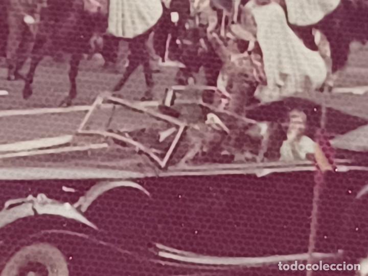 Fotografía antigua: Antiguo INEDITO álbum 12 fotos franco y reyes desfile en madrid - Foto 8 - 287068268
