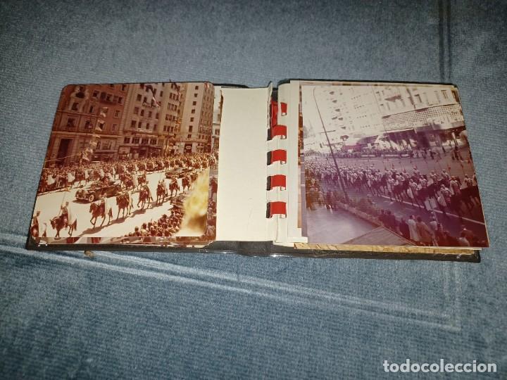 Fotografía antigua: Antiguo INEDITO álbum 12 fotos franco y reyes desfile en madrid - Foto 9 - 287068268