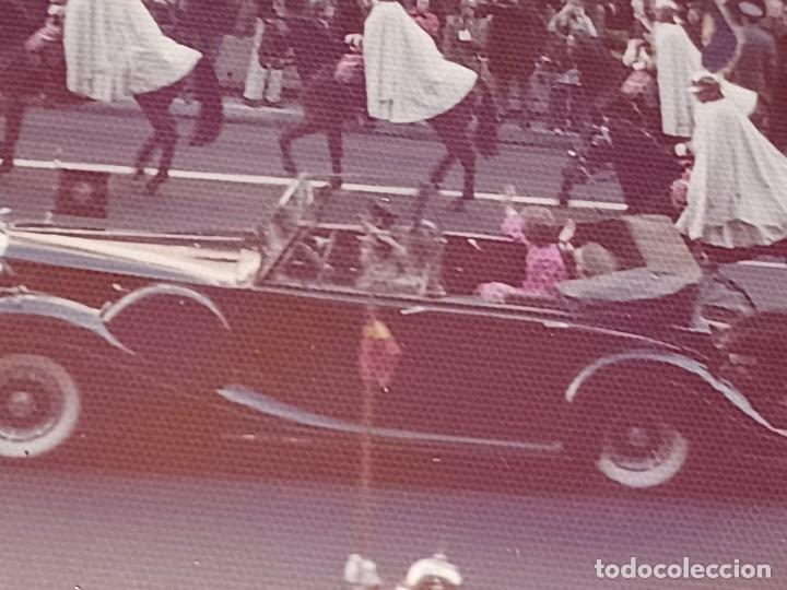 Fotografía antigua: Antiguo INEDITO álbum 12 fotos franco y reyes desfile en madrid - Foto 14 - 287068268