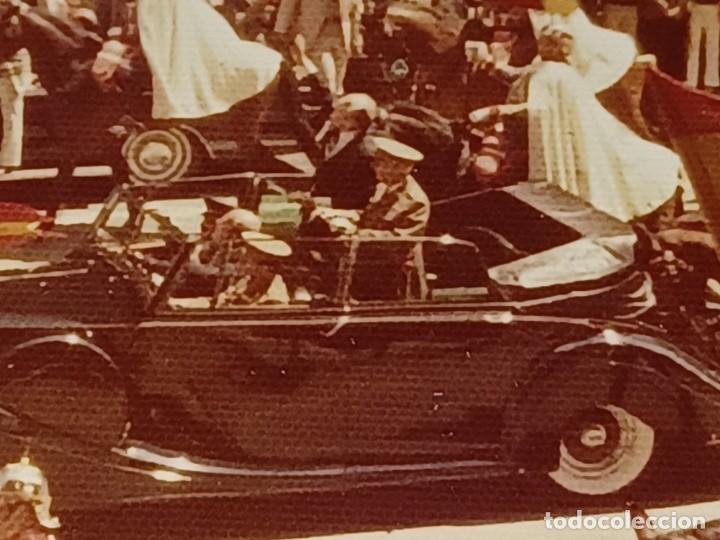 Fotografía antigua: Antiguo INEDITO álbum 12 fotos franco y reyes desfile en madrid - Foto 21 - 287068268
