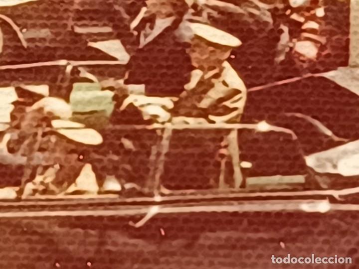 Fotografía antigua: Antiguo INEDITO álbum 12 fotos franco y reyes desfile en madrid - Foto 22 - 287068268