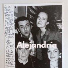 Fotografía antigua: FOTOGRAFIA PEPE RUBIANES CON AMIGOS DE COPAS EN CAFÉ NEGRITO - 2000 - POR FLACO GARCÍA POVEDA. Lote 287648718
