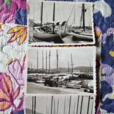 Fotografía antigua: EMBARCADERO DE LAS ARENAS VIZCAYA. 1950.. Lote 287828808