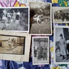 Fotografía antigua: ESCENAS CON UNIFORME. 1940.. Lote 287829088
