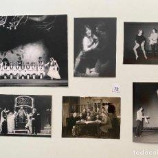 Fotografía antigua: LOTE DE FOTOGRAFIAS DE M. STIEBEL , TEATRO VARIADAS , ALEMANIA. Lote 287850088