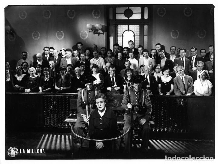 Fotografía antigua: TRECE FOTOGRAFIAS DE LA PELICULA=LA MILLONA(SELECCIONES CAPITOLIO)=VER FOTOS ADICIONALES DEL RESTO. - Foto 4 - 223787751