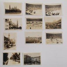 Fotografia antiga: F-5153. LOTE DE 11 FOTOGRAFIAS ZARAGOZA,CORRIDA GOYESCA,PARTIDO FUTBOL.1929.. Lote 288502448