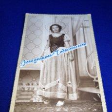 Fotografía antigua: FOTOGRAFIA ANTIGUA ARTÍSTICA CON MODELO. Lote 288515028