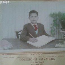 Fotografía antigua: FOTOGRAFÍAS RECUERDO DEL COLEGIO DEL SALVADOR.CURSO 53 - 54.. Lote 288638573