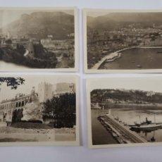Fotografía antigua: F-5183. LOTE DE 18 FOTOGRAFIAS MONACO Y MONTECARLO. AÑO 1927.. Lote 295000068