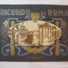 Fotografía antigua: ROMA-RICORDO DI ROMA-ALBUM CON FOTOGRAFIAS-VER FOTOS-(V-22.969). Lote 295517133
