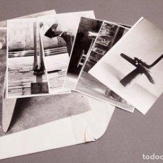 Fotografía antigua: IGNACIO BASALLO - ENCONTROS NO ESPACIO - 1984 - 6 FOTOGRAFÍAS. Lote 295893668