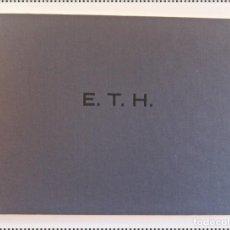 Fotografía antigua: E. T. H. JAVIER VALLHONRAT. Lote 295943718