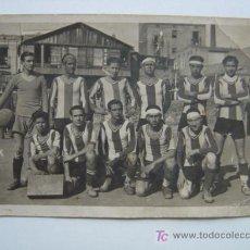 Coleccionismo deportivo: EQUIPO DE FUTBOL. FOTOGRAFO FURIO VALLS, BARCELONA. Lote 21289851