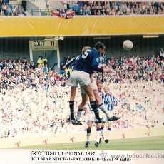Coleccionismo deportivo: FOTO Nº 2. FINAL COPA ESCOCIA 1997 (KILMARNOCK - FALKIRK). Lote 11056657