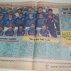 Coleccionismo deportivo: SELECCIÓN DE FÚTBOL DE FRANCIA : PREVIA MUNDIAL DE MEXICO 86. Lote 11752129
