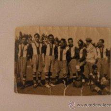 Coleccionismo deportivo: EXCEPCIONAL FOTOGRAFIA ALINEACION STADIUM AVILESINO AVILES VS OVIEDO 20 ABRIL 1924 ASTURIAS GIJON. Lote 26418281