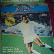 Coleccionismo deportivo: 50 NUMEROS COLECCIONABLE REAL MADRID CLUB DE FÚTBOL. PERIÓDICO ABC. AÑOS 80. JUANITO, . Lote 27108677