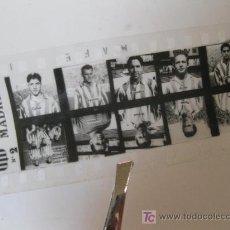 Coleccionismo deportivo: CLICHE DEL ATLETICO DE MADRID CON FOTOS DE JUGADORES - AÑOS 50. Lote 27110087