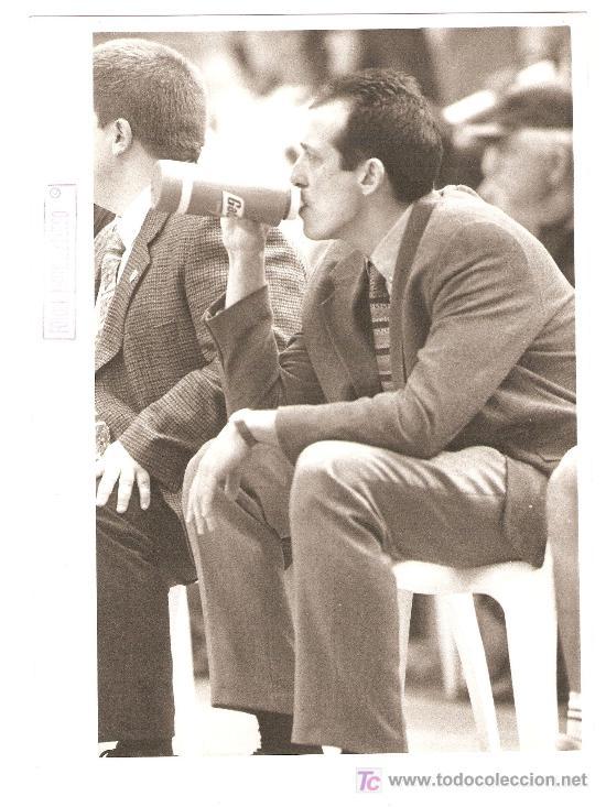 FOTOGRAFÍA ORIGINAL SALVA MALDONADO. FINAL COPA (BARCELONA 92-TDK 94). ACB 1995/96 (Coleccionismo Deportivo - Documentos - Fotografías de Deportes)