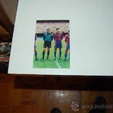 Coleccionismo deportivo: BARÇA, DREAM TEAM: FOTO A CÁMARA DE ZUBIZARRETA Y VUJEVIC. AÑOS 1992-94. Lote 26516210